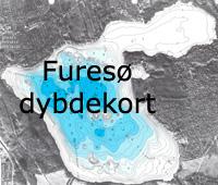 Dybdekort over Furesøen